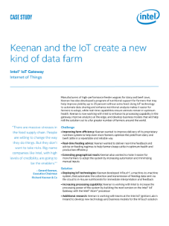 Keenan and the IoT Create a New Kind of Data Farm