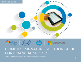 Biometric Signature Solution Guide for Financial Sector