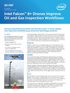 Intel Falcon™ 8+ Drones Improve Oil and Gas Inspection Workflows