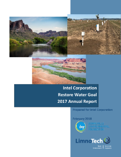 Intel Corporation Water Restoration 2017 Report