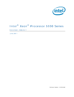 Intel® Xeon® Processor 5600 Series Datasheet Vol. 1