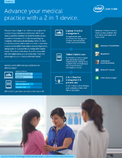 2 in 1 for Healthcare—Advance Your Medical Practice
