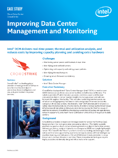 Cloud Data Center  CrowdStrike Improving Data Center  Management and Monitoring  Case Study