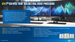 2nd Gen Intel® Xeon® Scalable Processors Sales Brief