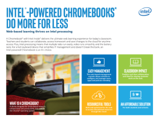 Education Chromebook* Sales Guide