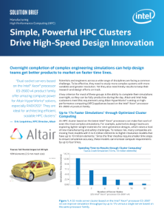 Powerful HPC Clusters Drive High-Speed Design Innovation