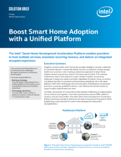 Unified Platform Helps Boost Smart Home Adoption