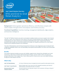 RFID Solution Brief