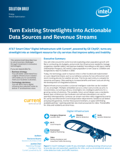 Turn Existing Streetlights into Actionable Data Sources and Revenue Streams Solution Brief