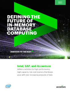 Defining the Future of In-Memory Database Computing