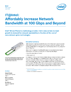 Increase Network Bandwidth with Optics