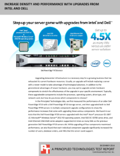 Step Up Your Server Game with Upgrades from Intel and Dell