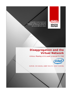 Disaggregation and the Virtual Network
