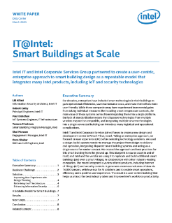 Smart Buildings at Scale