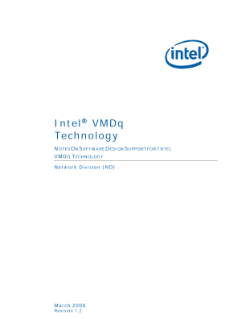 Intel® VMDq Technology: An Overview