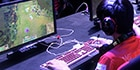 Gamer playing League of Legends at Intel® Extreme Masters