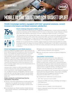 Mobile Retail Solutions Engage Customers